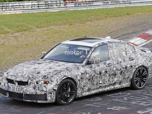 Баварцы тестируют на Нюрбургринге BMW M3 нового поколения