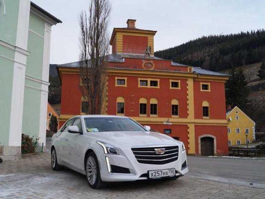 Cadillac CTS покинул российский рынок