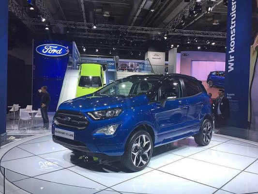 Названа дата начала продаж в России обновленного Ford EcoSport