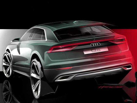 Названы сроки появления нового купеобразного кроссовера Audi Q8