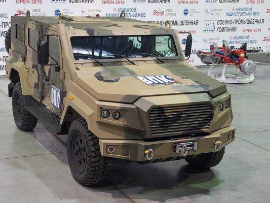 Для российской армии подготовили новые внедорожники «Стрела»