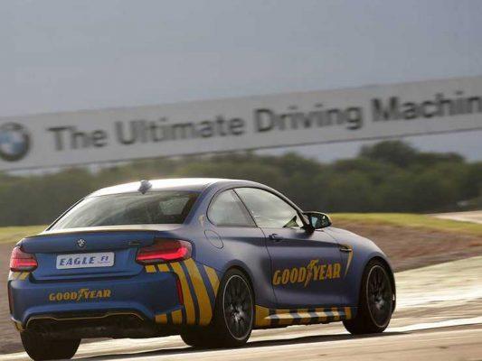 Новую летнюю шину Goodyear протестировали на треке Формулы-1